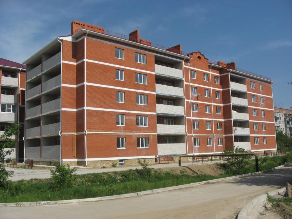 Строительство квартир г. Горячий Ключ.